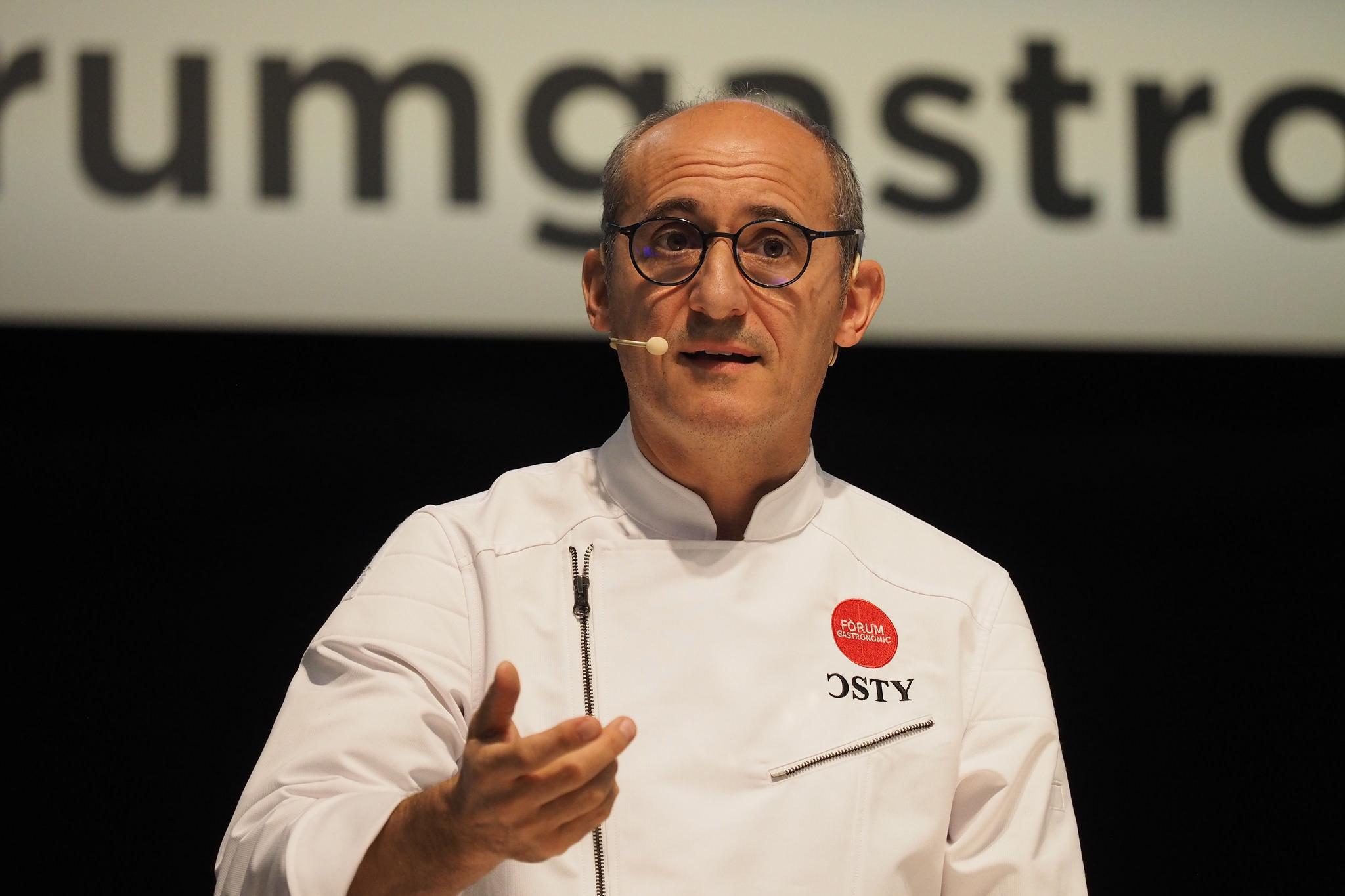 Paco Pérez en el Fòrum Gastronòmic Barcelona 2016