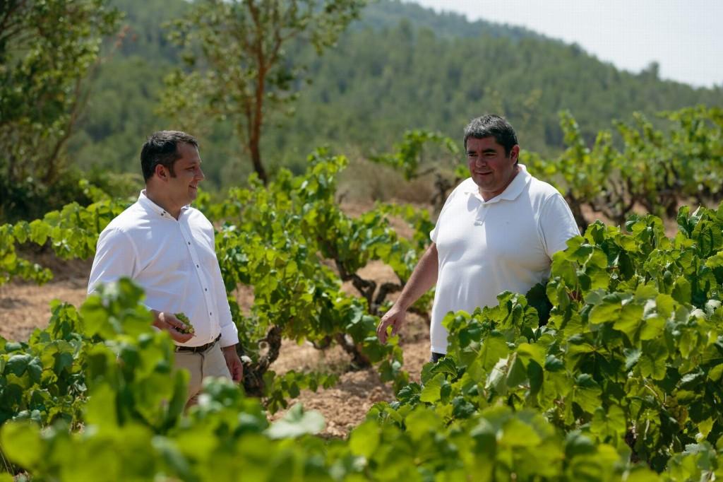 Jordi Vicente y Laurent Corrio
